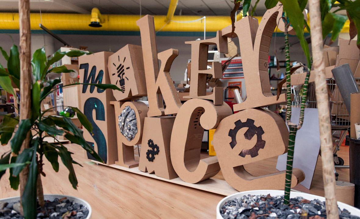 The Maker Space at ISZN